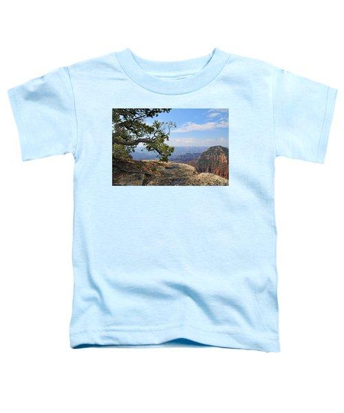 Grand Canyon North Rim Craggy Cliffs Toddler T-Shirt