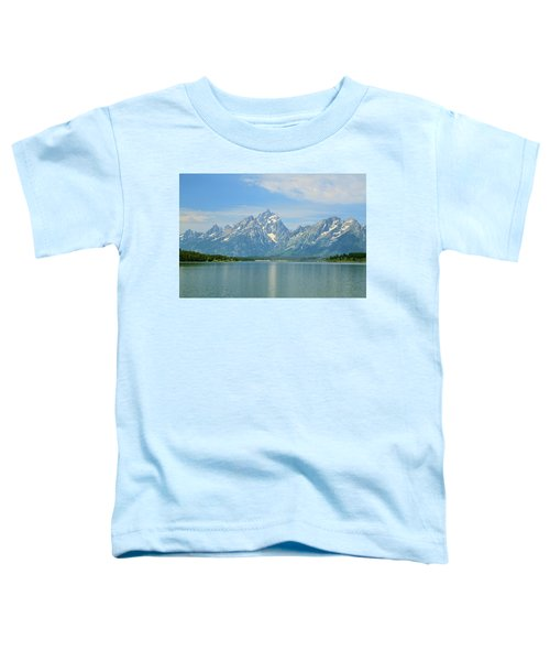 Grand Teton Over Jackson Lake Toddler T-Shirt