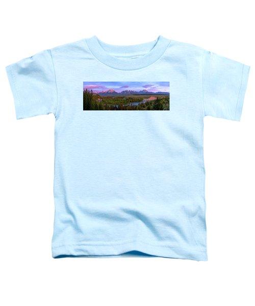 Grand Tetons Toddler T-Shirt by Chad Dutson