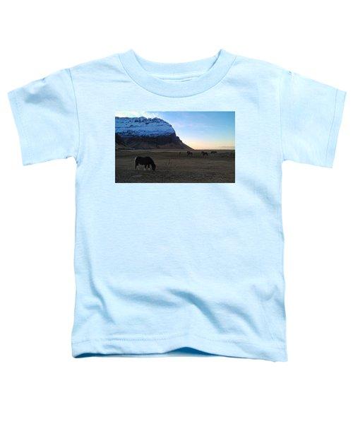 Grazing At Dawn Toddler T-Shirt