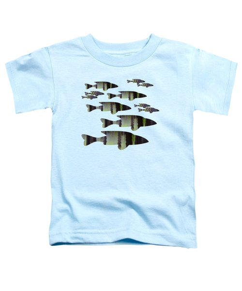 Green Fish Toddler T-Shirt