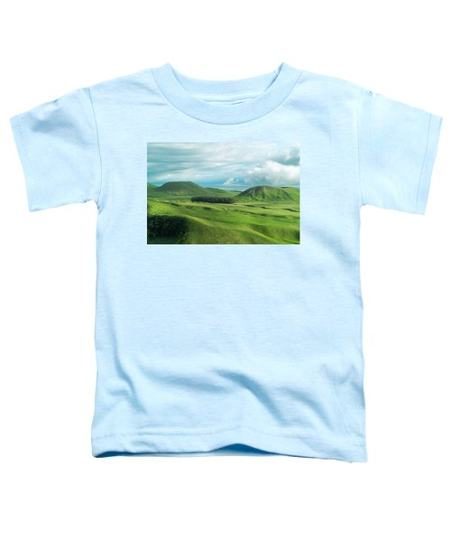 Green Hills On The Big Island Of Hawaii Toddler T-Shirt