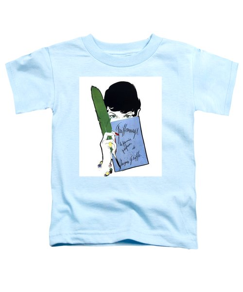Toddler T-Shirt featuring the digital art Griffe by ReInVintaged
