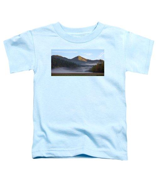Ground Fog In Cataloochee Valley - October 12 2016 Toddler T-Shirt
