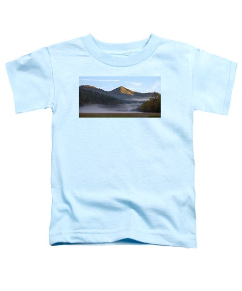 Ground Fog In Cataloochee Valley - October 12 2016 Toddler T-Shirt