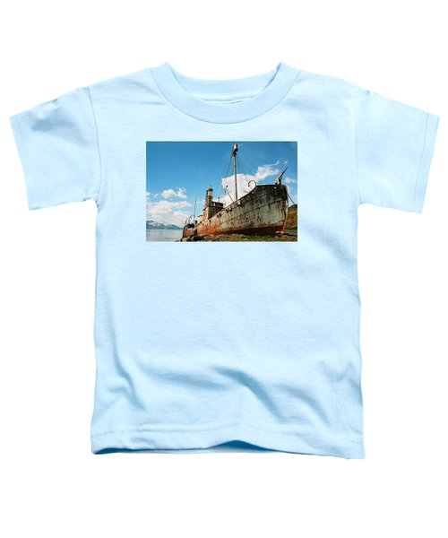 Grytviken Whaler Toddler T-Shirt