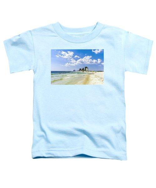 Gulf Shores Al Beach Seascape 1746a Toddler T-Shirt