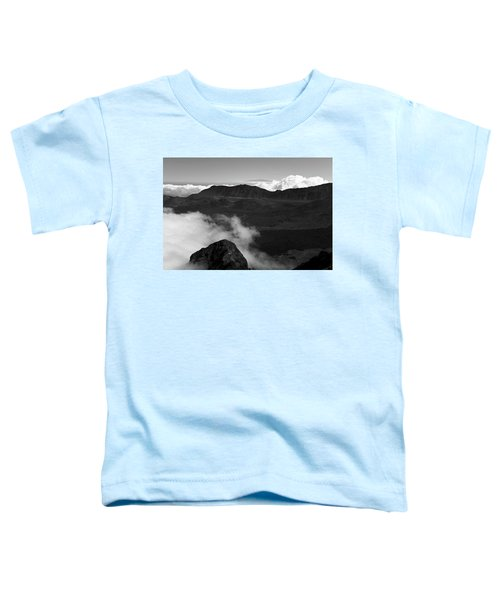 Haleakala B/w Toddler T-Shirt