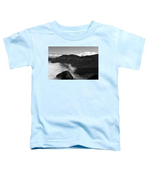 Haleakala B/w Toddler T-Shirt