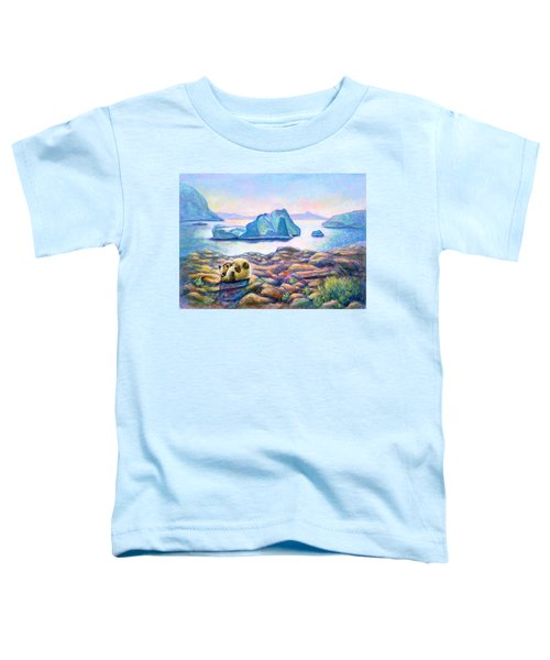 Half Hidden Toddler T-Shirt
