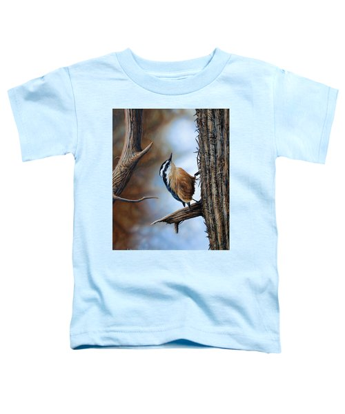 Hangin Out - Nuthatch Toddler T-Shirt