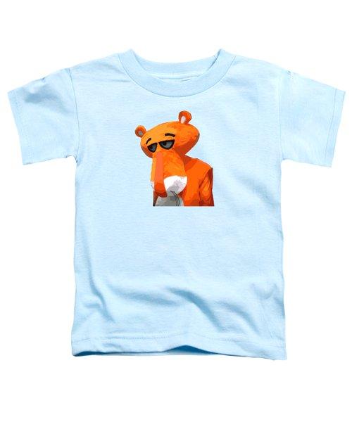 Happy Panther Toddler T-Shirt