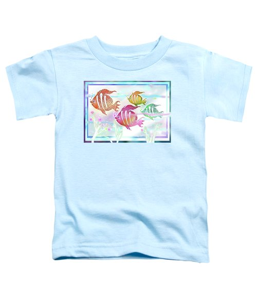 Happiness Is A Clean Ocean  Toddler T-Shirt
