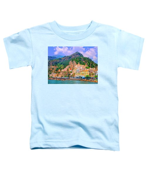 Harbor At Amalfi Toddler T-Shirt