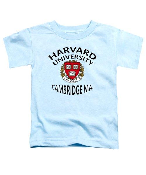Harvard University Cambridge M A  Toddler T-Shirt
