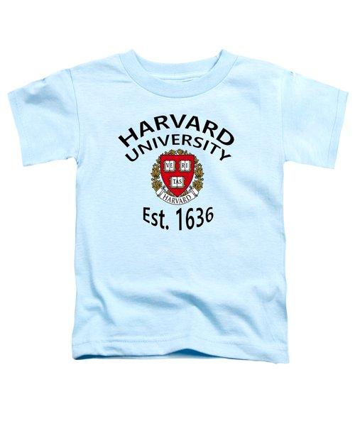 Harvard University Est 1636 Toddler T-Shirt