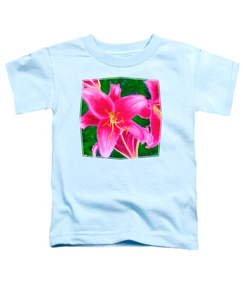 Hawaiian Flowers Toddler T-Shirt
