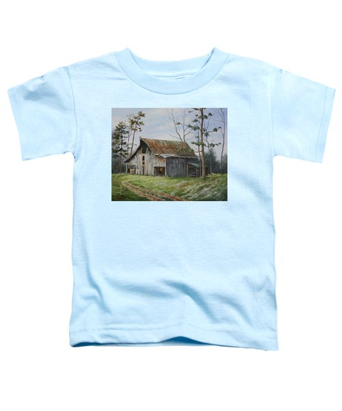 Hawks At The Barn Toddler T-Shirt