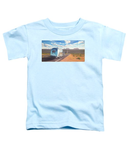 Heading South Towards Monument Valley Toddler T-Shirt