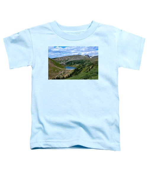 Heart Lake In The Indian Peaks Wilderness Toddler T-Shirt
