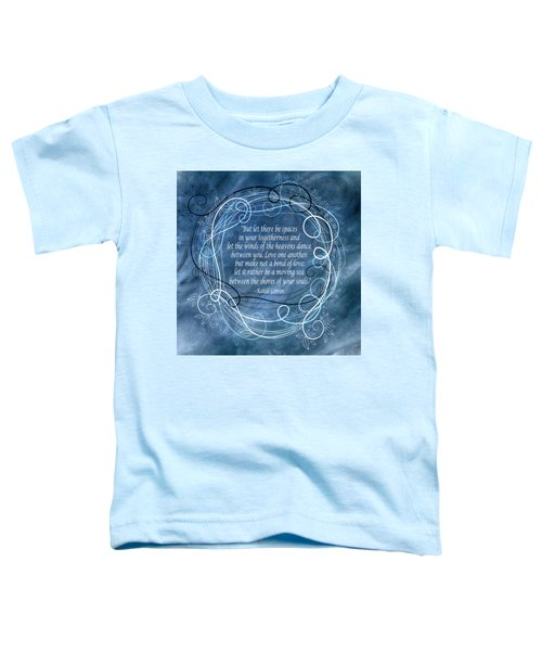 Heavens Dance Toddler T-Shirt