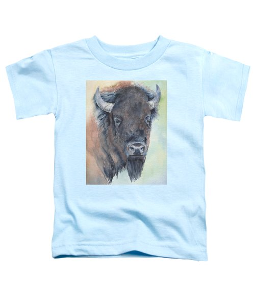 Here's Looking At You - Bison Toddler T-Shirt