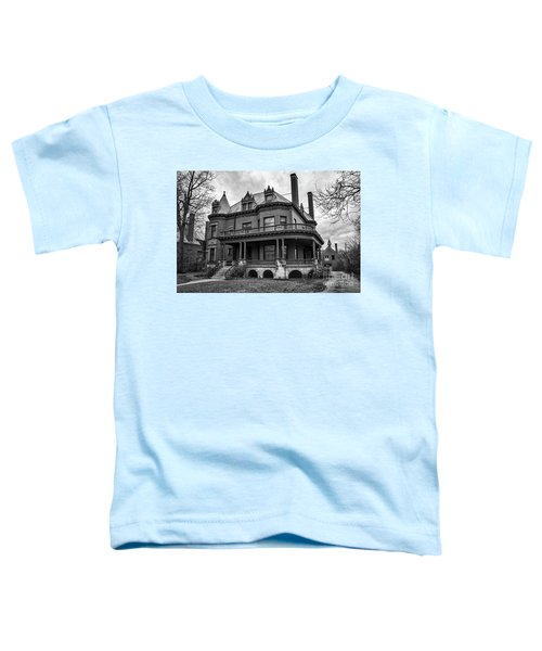 Heritage Hill Mansion In Black And White Toddler T-Shirt