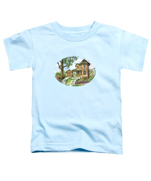 Hilltop Home Toddler T-Shirt by Shelley Wallace Ylst