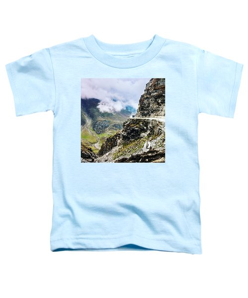 Himalayan Roads Are Good For Your Toddler T-Shirt