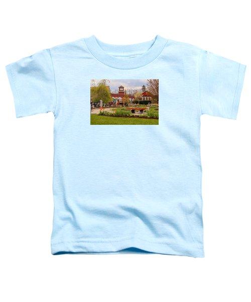 Historic Rail Station, Manhan Rail Trail Easthampton Toddler T-Shirt