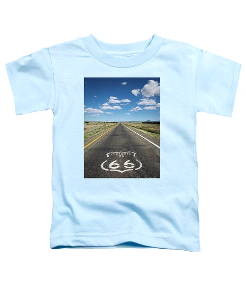 Historica Us Route 66 Arizona Toddler T-Shirt