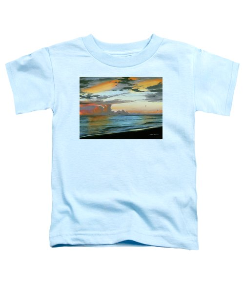 Holmes Beach Toddler T-Shirt