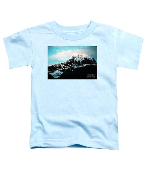 Holy Kailas East Slop Himalayas Tibet Yantra.lv Toddler T-Shirt