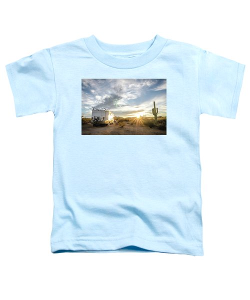 Home In The Desert Toddler T-Shirt
