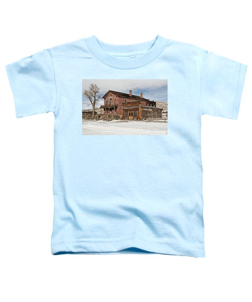 Hotel Meade And Saloon Toddler T-Shirt