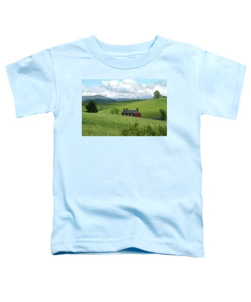 House In The Hills Toddler T-Shirt