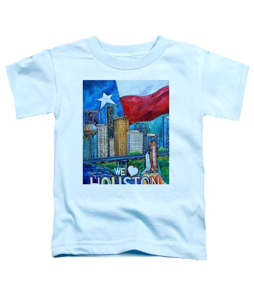 Houston Montage Toddler T-Shirt
