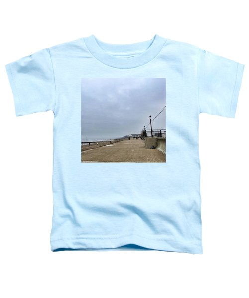 Hunstanton At 4pm Yesterday As The Toddler T-Shirt by John Edwards