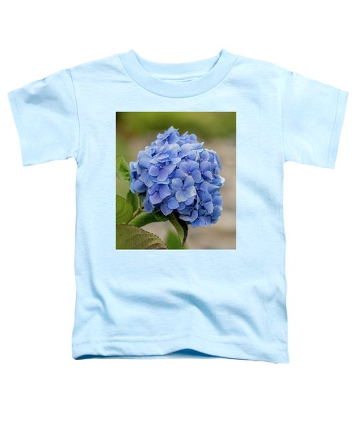 #hydrangea In Blue Toddler T-Shirt