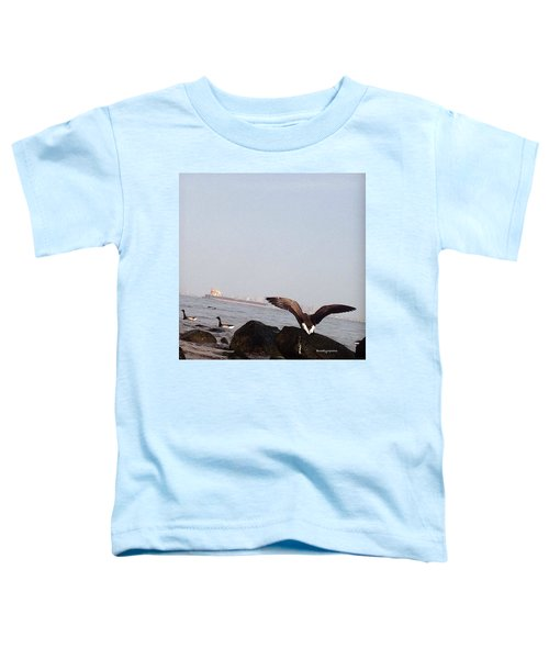 i Will Never Stop Trying To Fly Toddler T-Shirt