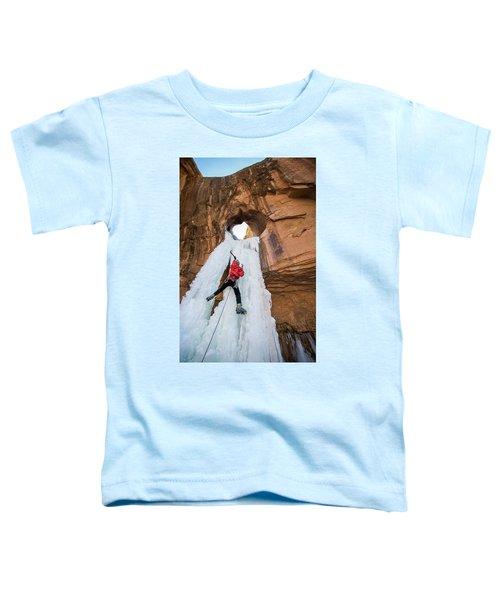 Ice Climber Toddler T-Shirt