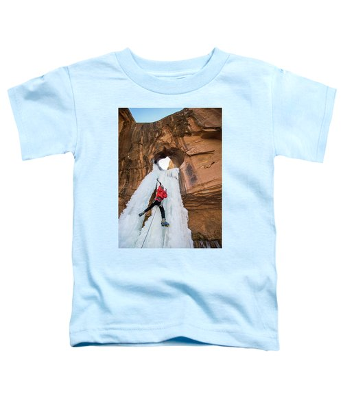 Ice Climber Toddler T-Shirt