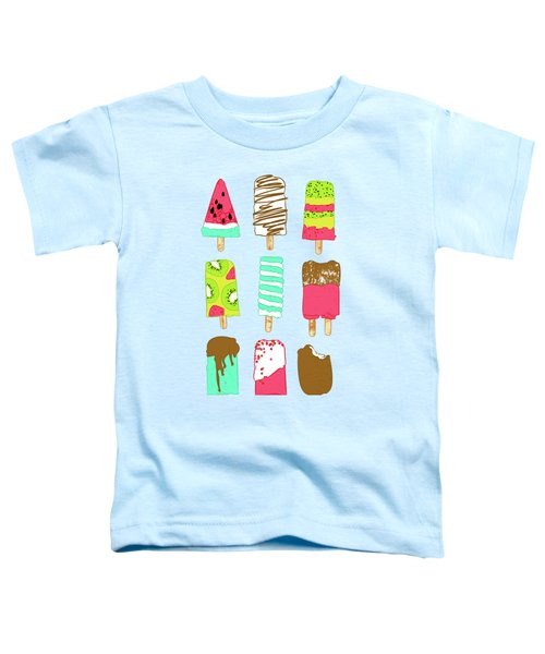 Ice Cream Time Toddler T-Shirt