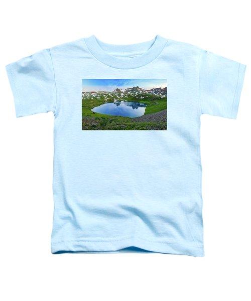 Ice Lake Panorama Toddler T-Shirt