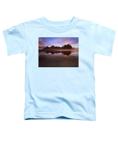 Iceland Sunset Reflections Toddler T-Shirt