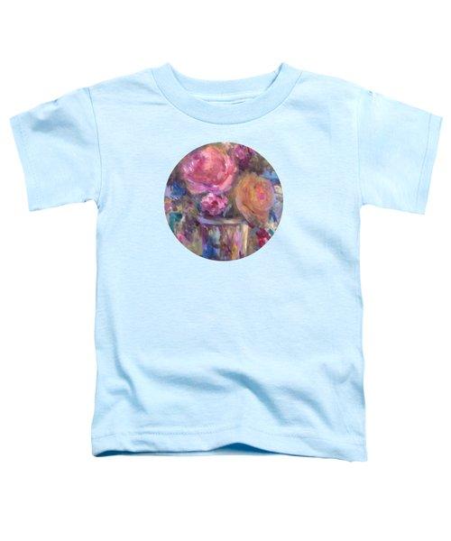 Impressionist Floral Art Toddler T-Shirt