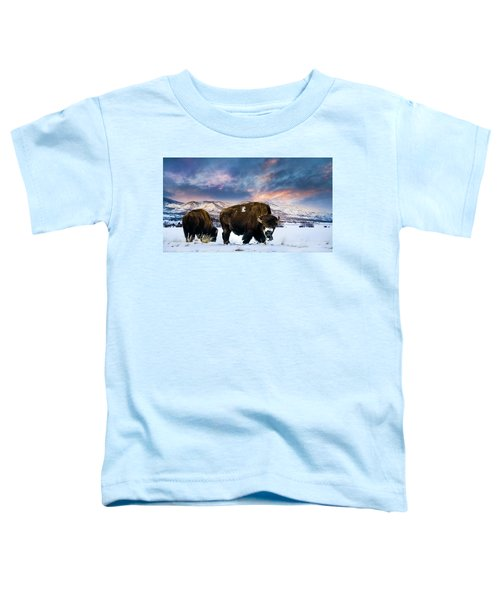 In The Grips Of Winter Toddler T-Shirt