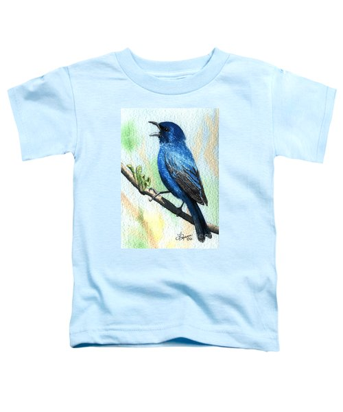 Indigo Bunting Toddler T-Shirt