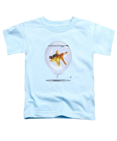 Inflated Colour Toddler T-Shirt by Rob Snow