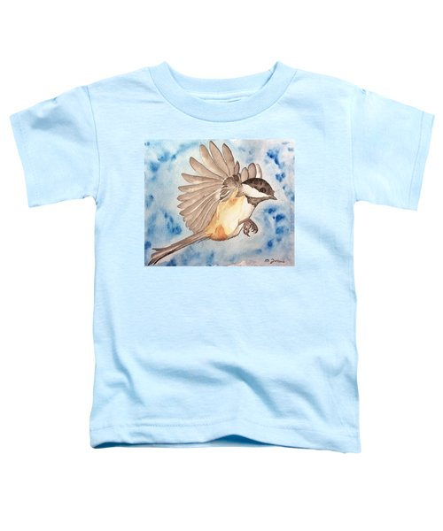 Inflight - Cropped Toddler T-Shirt